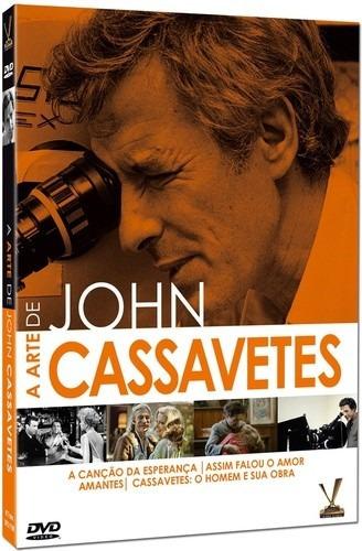 dvd a arte de john cassavetes, box amaray com 2 discos  +