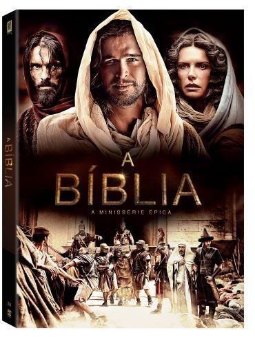 dvd a bíblia - a minissérie épica - 4 discos - original