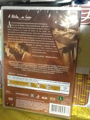 dvd a bíblia no início