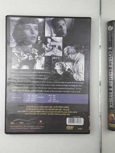 dvd a cabeca contra a parede
