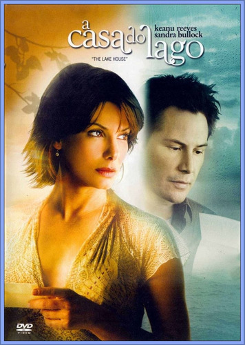 dvd a casa do lago - sandra bullock keanu reeves - original