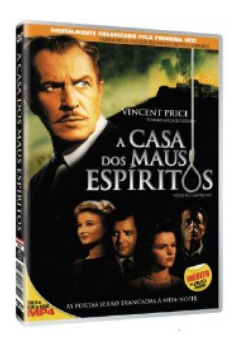 dvd a casa dos maus espíritos - novo e lacrado
