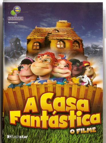 dvd a casa fantástica o filme - novo lacrado***