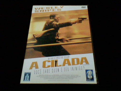 dvd a cilada - com wesley snipes