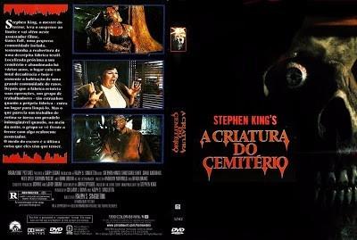 dvd a criatura do cemiterio/ dublado