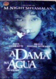 dvd - a dama da água