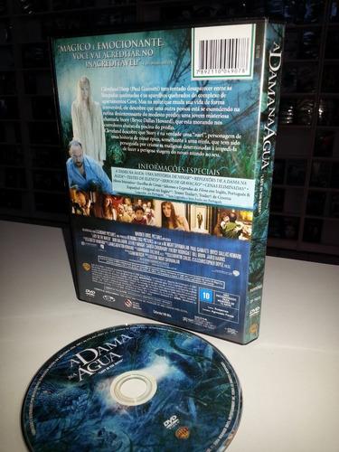 dvd a dama na agua - filme original