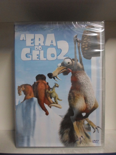 dvd a era do gelo 2 - original - lacrado