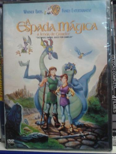 dvd a espada magica a lenda de camelor