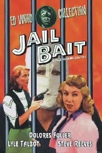 dvd - a face do crime - ( jail bait ) dolores fuller
