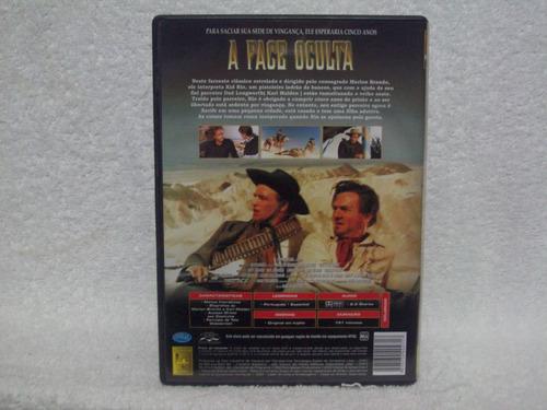 dvd a face oculta- com marlon brando