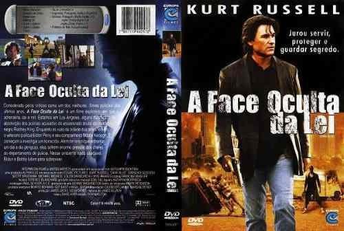 dvd a face oculta da lei - kurt russell original... b328