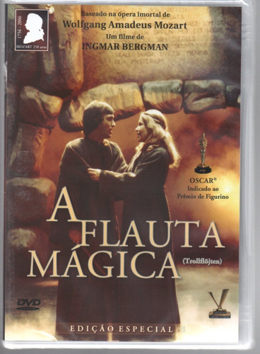 dvd a flauta magica - versatil - bonellihq cx376 g18