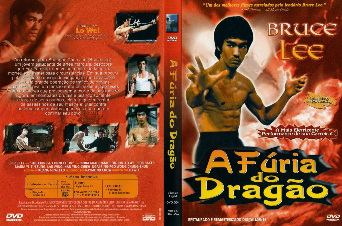 A Fúria do Dragão (1972) - Bruce Lee