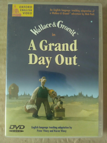 dvd a grand day out wallace and gromit
