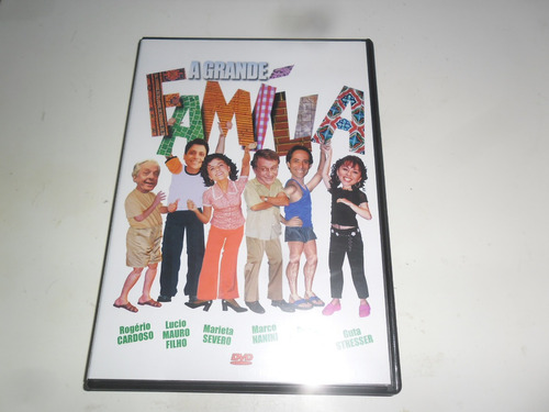 dvd a grande família