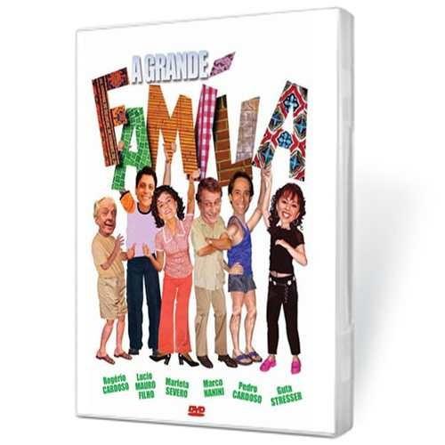 dvd a grande família - homenagem a rogério cardoso