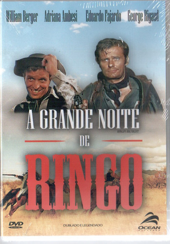 dvd a grande noite de ringo (1967) eduardo fajardo