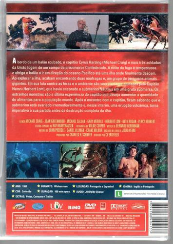 dvd a ilha misteriosa - classicline - bonellihq l19