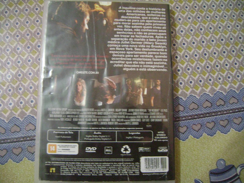 dvd  a inquilina  hilary swank  jeffrey dean morgan christop