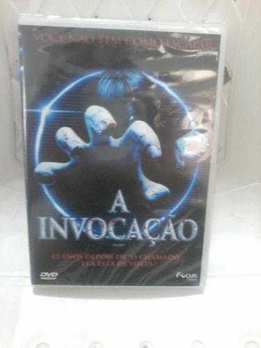 dvd a invocação - terror