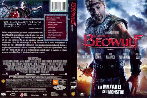 dvd a lenda de beowulf - ray winstone - anthony hopkins