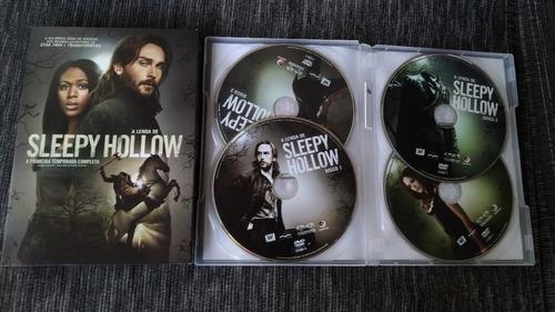 dvd a lenda de sleepy hollow - 1ª temporada