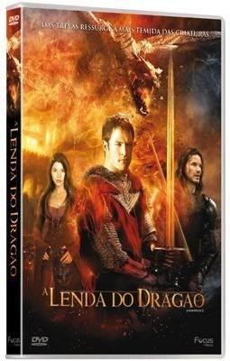 dvd - a lenda do dragão