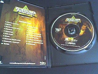 dvd a lenda do tesouro perdido com encarte interno