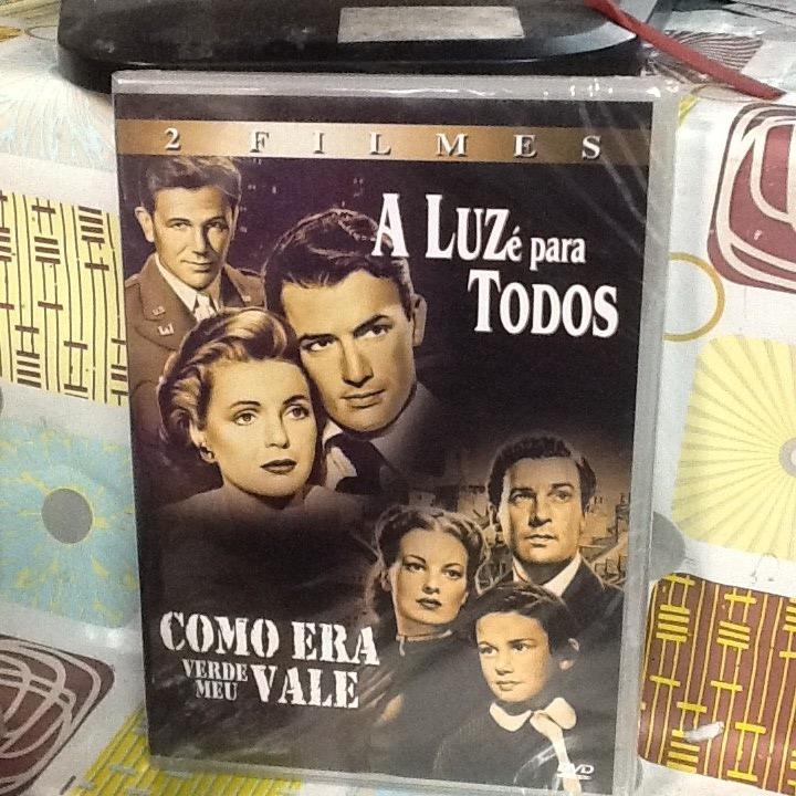 223cccb68c1ce Dvd A Luz É Para Todos Como Era Verde Meu Vale - R  39,00 em Mercado ...