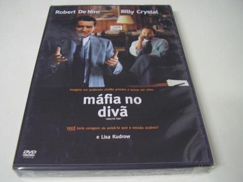 dvd a máfia no divã - lacrado - robert de niro