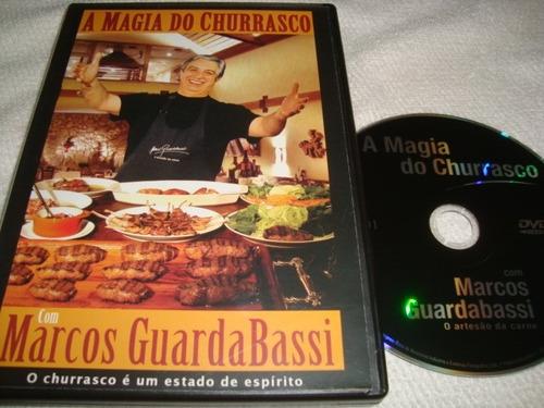 dvd a magia do churrasco marcos guardabassi arte som