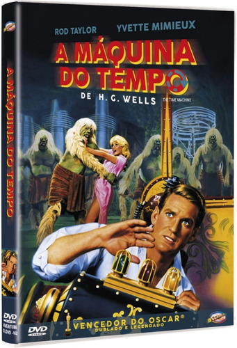 dvd a máquina do tempo, c yvette mimieux, rod taylor 1960 +
