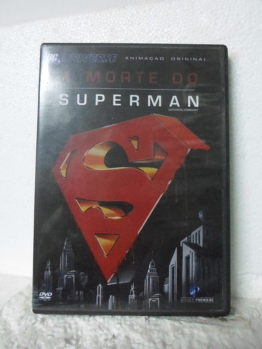 dvd a morte do superman - original