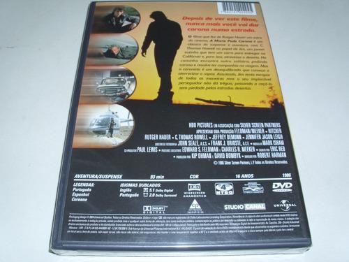 dvd a morte pede carona com rutger hauer