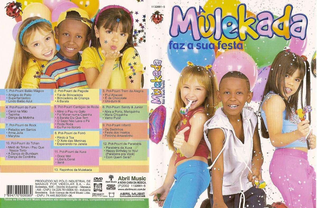 dvd mulekada faz a festa