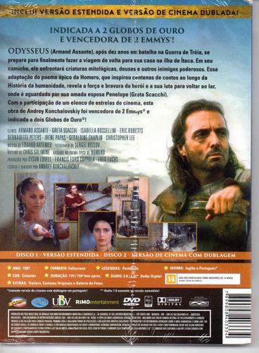 dvd a odisseia - armand assante - classicline bonellihq f19