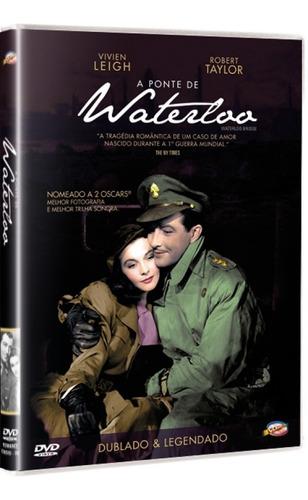 dvd a ponte de waterloo, vivien leigh robert taylor 1940 +