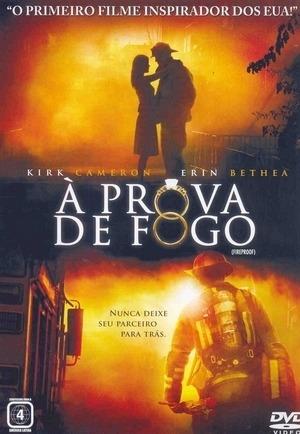 dvd a prova de fogo - kirk cameron, erin bethea