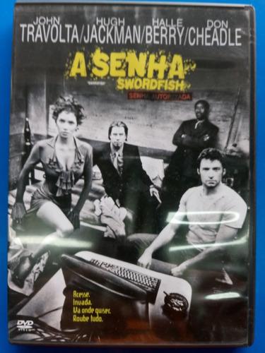 dvd a senha. swordfish. john travolta