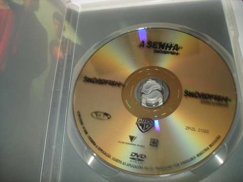 dvd - a senha - swordfish - john travolta