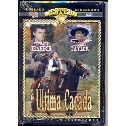 dvd : a última caçada, 1956 - robert taylor