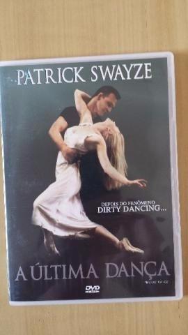 dvd a ultima dança ,com patrick swayze