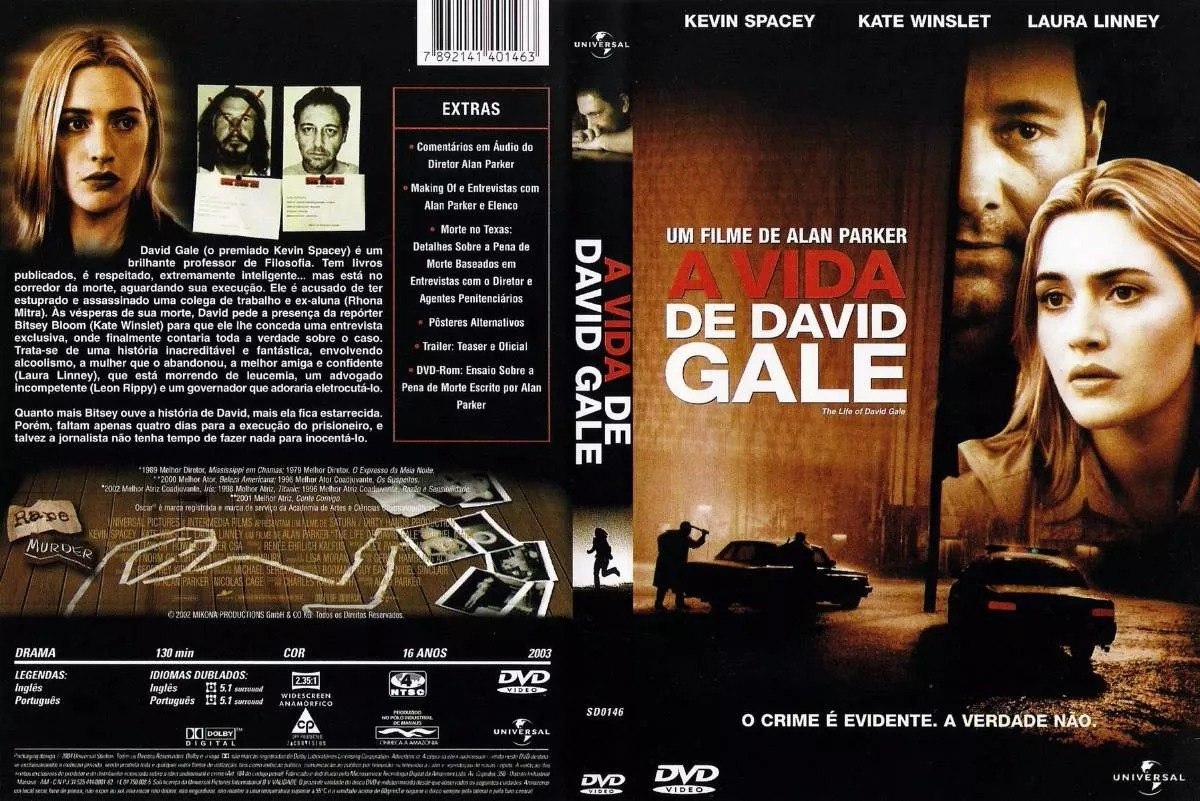filme a vida de david gale legendado