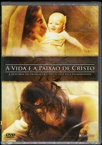 dvd a vida e a paixão de cristo (original e lacrado) novo!