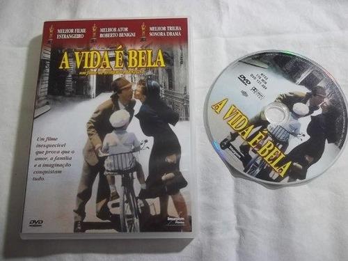 dvd - a vida é bela - clássicos e cults