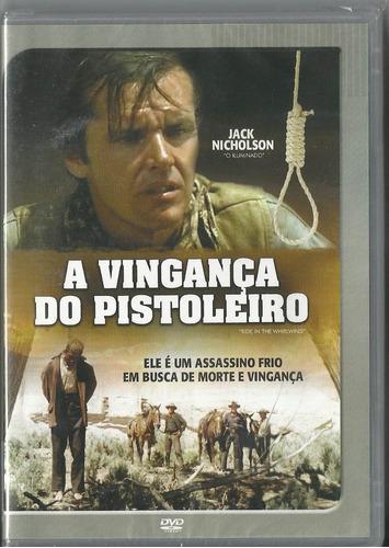 dvd a vingança do pistoleiro -jack nicholson,novo/orig/lacra