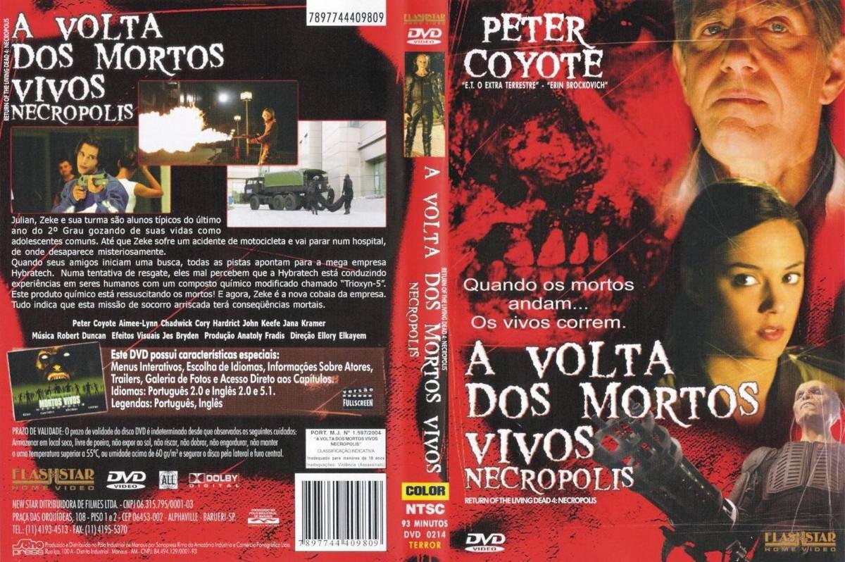 Filme Mortos Vivos with regard to dvd a volta do mortos vivos - necropolis, terror, original - r$ 9