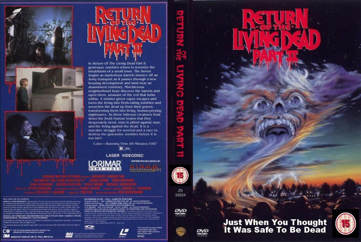 Filme Mortos Vivos throughout dvd a volta dos mortos-vivos 2 (1988) - dublagem clássica - r$ 27