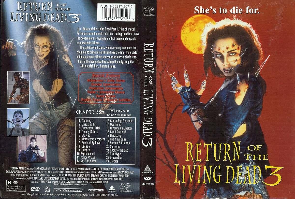 Filme Mortos Vivos pertaining to dvd a volta dos mortos-vivos 3 (1993) - dublagem clássica - r$ 27